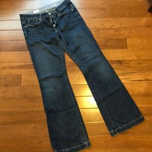 Gap Jeans size 6 long and lean